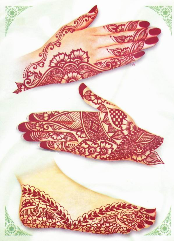 arabian mehndi design